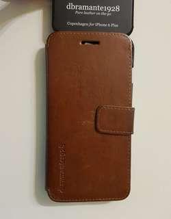 dbramante1928 Leather Wallet Folio Copenhagen - Brown