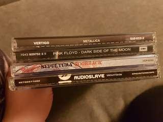 Metallica, Pink Floyd, Audioslave, Sepultura