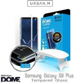 Whitestone Dome Glass Samsung Galaxy S9 Plus Tempered Glass