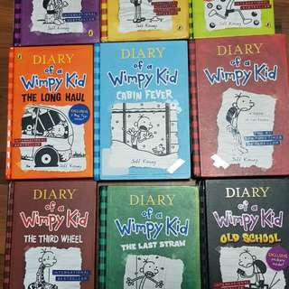 Diary of a Wimpy Kid ( All hardcover)
