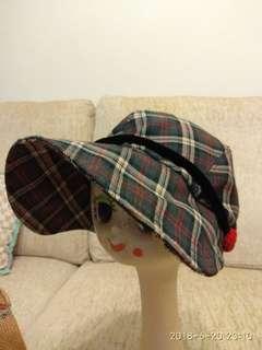 日本製 Ventura 小飛俠型 格仔帽