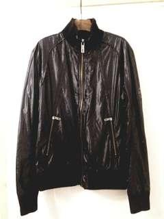 Man Black Jacket