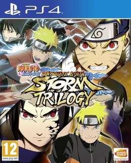 🚚 🍥 Naruto Shippuden Ultimate Ninja Storm Trilogy