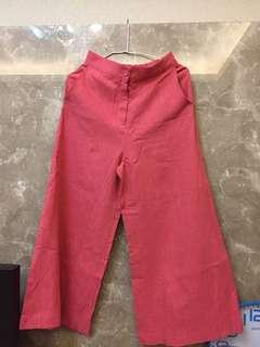 🚚 韓版高腰寬褲