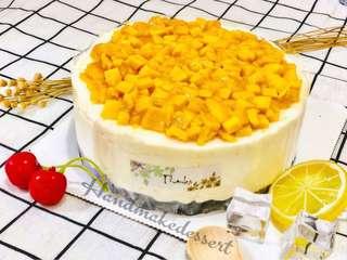 芒果芝士凍餅