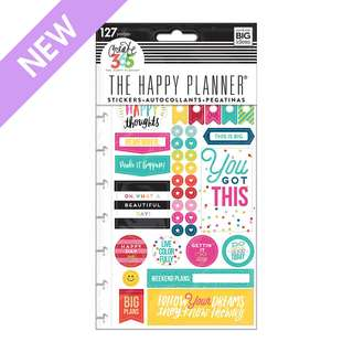 Planner Stickers - Happy Brights