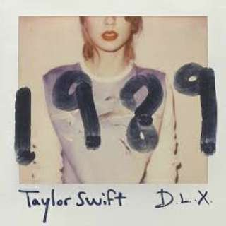 Music CD Taylor Swift 1989 Album
