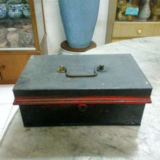 Metal Cashbox Vintage 4