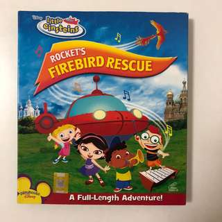 Disney little einsteins ROCKET'S FIREBIRD RESCUE VCD