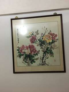 Chinese Painting 富貴花开