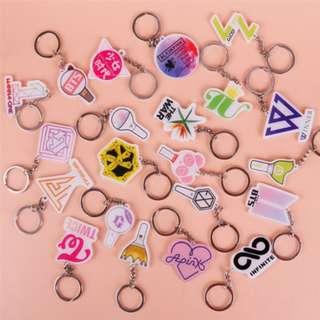 KPOP Acrylic Keychain (EXO, Apink, GFriend, Big Bang, Got7