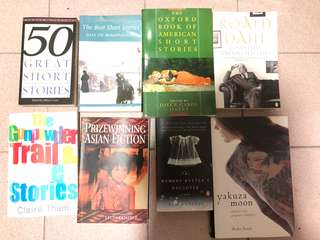 8 Books for sale (price is for each book)