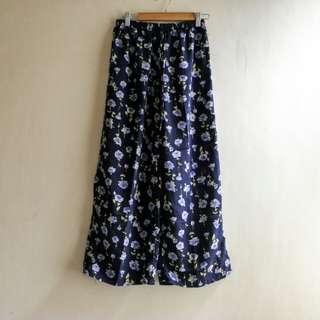 Floral square pants