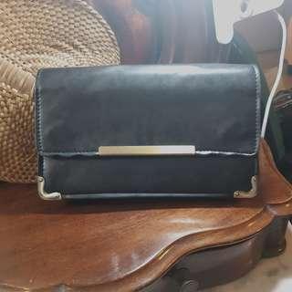 KOREANFaux Leather Clutch
