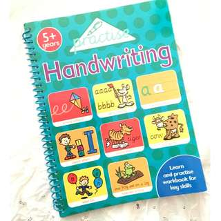 Practise Handwriting Activity Book 5+ Years Children's Activity Book