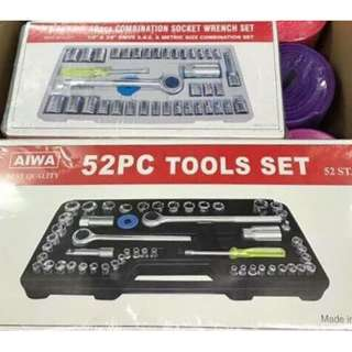 52 pcs tools set