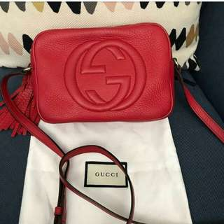 👉FAST SALE - GUCCI Soho Red #tfc