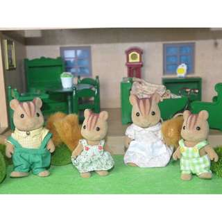 SYLVANIAN FAMILIES SQUIRREL FAMILY