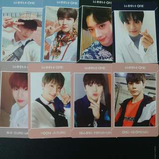 WTT WTS WANNA ONE UNDIVIDED PC