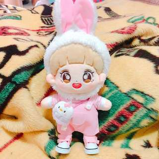BTS EXO WANNA ONE 背帶褲 20cm娃衣 玩偶衣服 公仔
