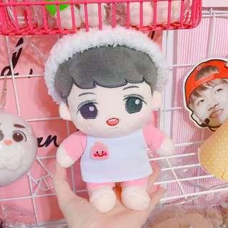 BTS EXO WANNA ONE 姜丹尼爾 Apeach 20cm娃衣 玩偶衣服 公仔