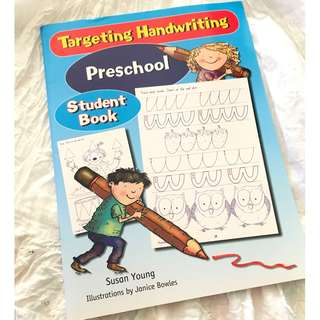 Targeting Handwriting Preschool Student Book