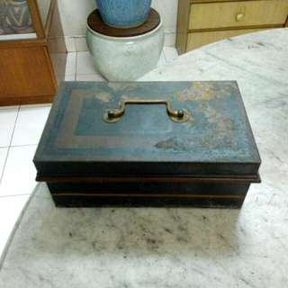 Metal Cashbox Vintage 7