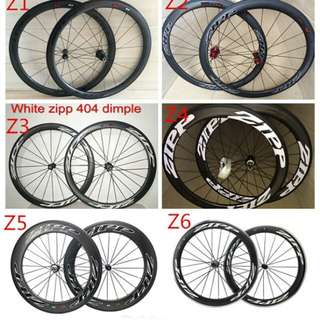 OEM Zipp full carbon wheelsets