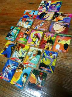 Ghost Fighter Yuyu Hakusho Teks SET 1