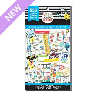 The Happy Planner KIDS™ Value Pack Stickers - Classic - Fun Kid