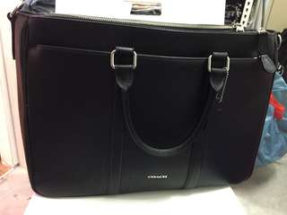 Coach men briefcase