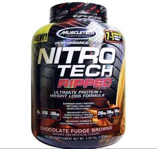 (Instock) Muscletech Nitrotech Ripped 4lbs
