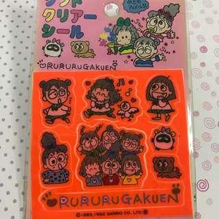 Sanrio RURU絕版貼紙