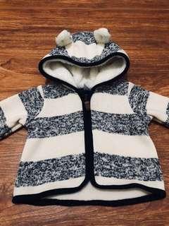 Babyboy jacket with hoodie