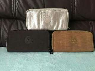 Authentic Kipling wallets