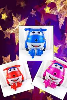 Super Wings Party supplies - party balloons