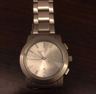 Agnes b. Signature stainless watch