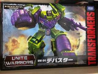 Takara Transformer Unite Warriors UW-04 Devastator