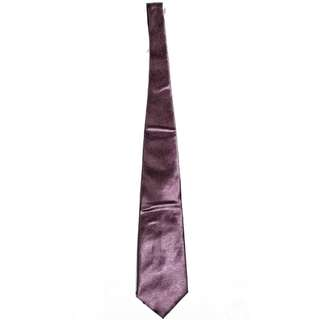 Tie Satin Purple Burgundy / Dasi Ungu Tua