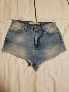 ZARA denim shorts (size S to M)