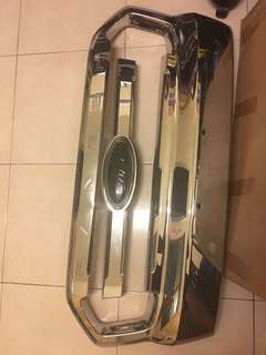 Ford ranger T7 Chrome Grill