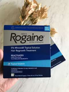 🚚 Men's Rogaine Extra Strength Solution 3 Month Supply