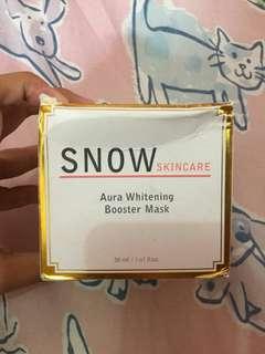 snow skincare mask