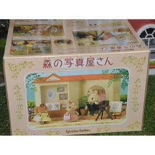 SYLVANIAN FAMILIES RARE PHOTO STUDIO WITH BOX (Excluding figures)