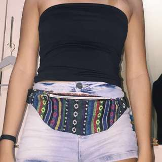 Nasty Gal Tribal Print Woven Fanny Pack