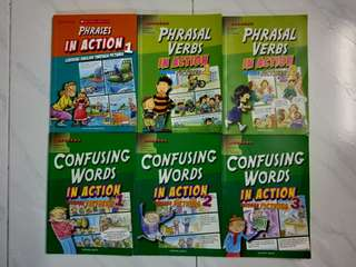 Phrases In Action, Phrasal Verbs In Action, Confusing Words In Action LEARNERS PUBLISHING