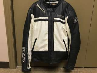 XXL Ducati motorcycle jacket, pants and gloves