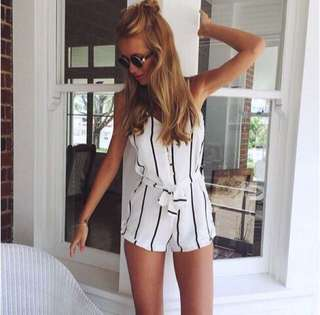 Stripes Romper