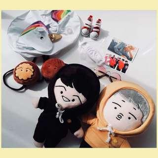 [Ready-Stock]BTS Suga RM Doll Sets !!