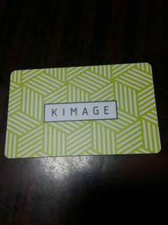 🚚 Kimage gift card $80